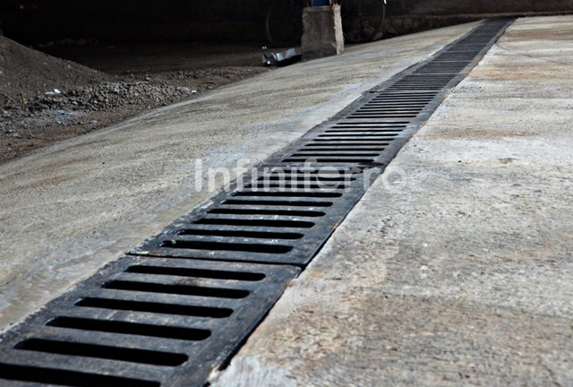 home garden drainage
