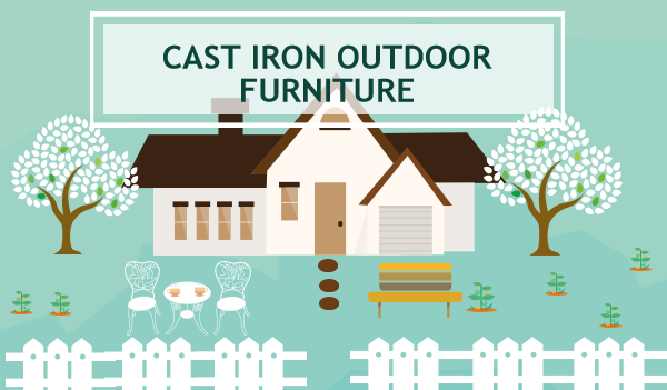 cast iron furniture outdoor