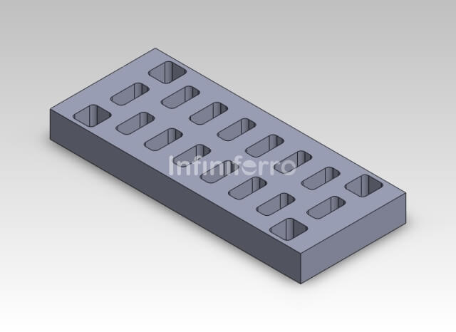 vented design airport gratings