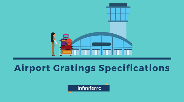 airport gratings specification